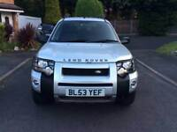 Landrover Freelander td4 hse automatic full service history full heated leather interior