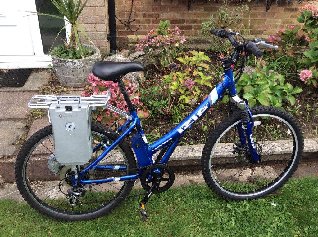 IZIP MOUNTAIN TRAILZ AL Electric Bicycle