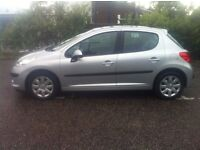 PEUGEOT 207 HDI S - DIESEL - LOW TAX - IMMACULATE