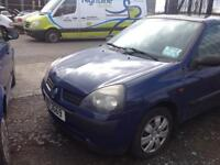 2002 RENAULT CLIO 1.2 PETROL BREAKING FOR PARTS ONLY POSTAGE AVAILABLE NATIONWIDE