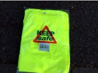 Hi viz yellow trousers xxl