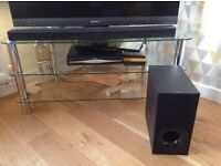 Sony Sound Bar and Woofer