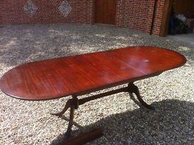 Dining table mahogany 10 seater
