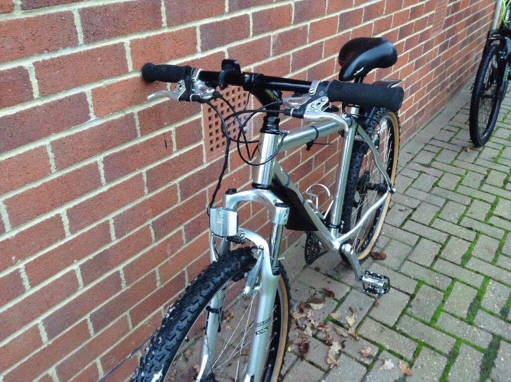 "Saracen Mountain Bike - Adult, 26"" wheels, 24 speed Shimano gear set, lightweight aluminium frame"