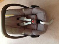 Maxi-Cosi Pebble Car Seat Grey for use with Isofix base or seat belt