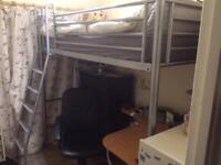 High sleeper with desk excellent excellent condition