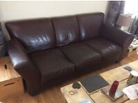 Three seater settee in good condition. Non smoking home. £100.