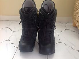 Snowboard boots by Burton. Shaun White special edition size 8 1/2