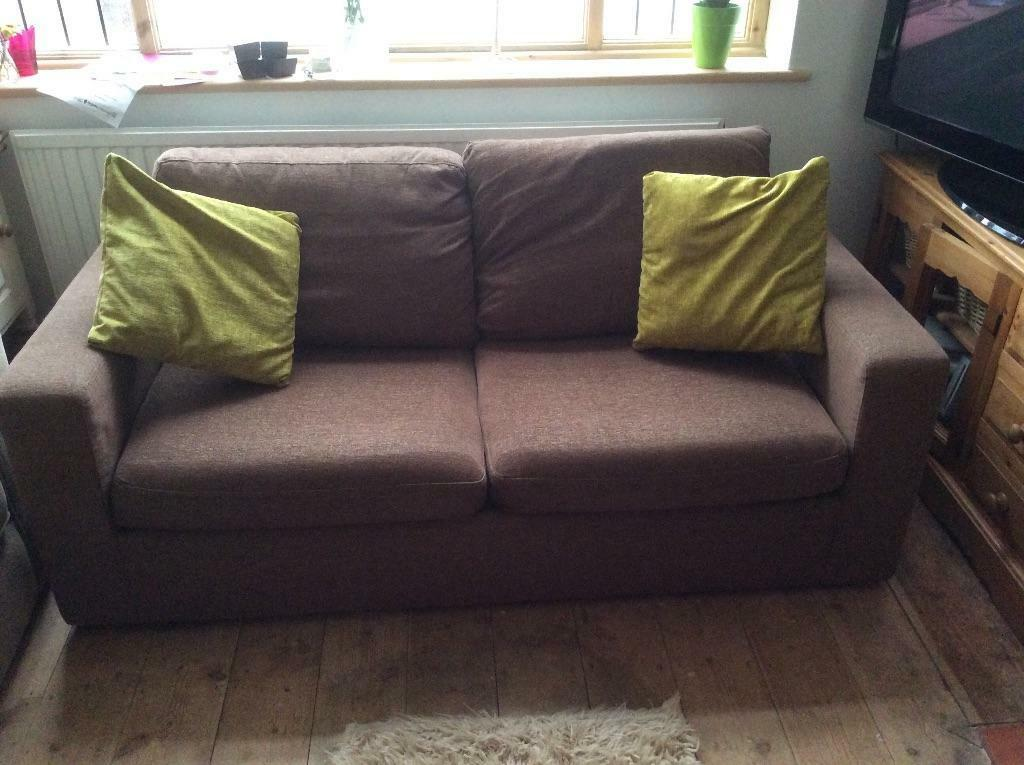 Brown Pull Out Sofa Bed In Waterlooville Hampshire