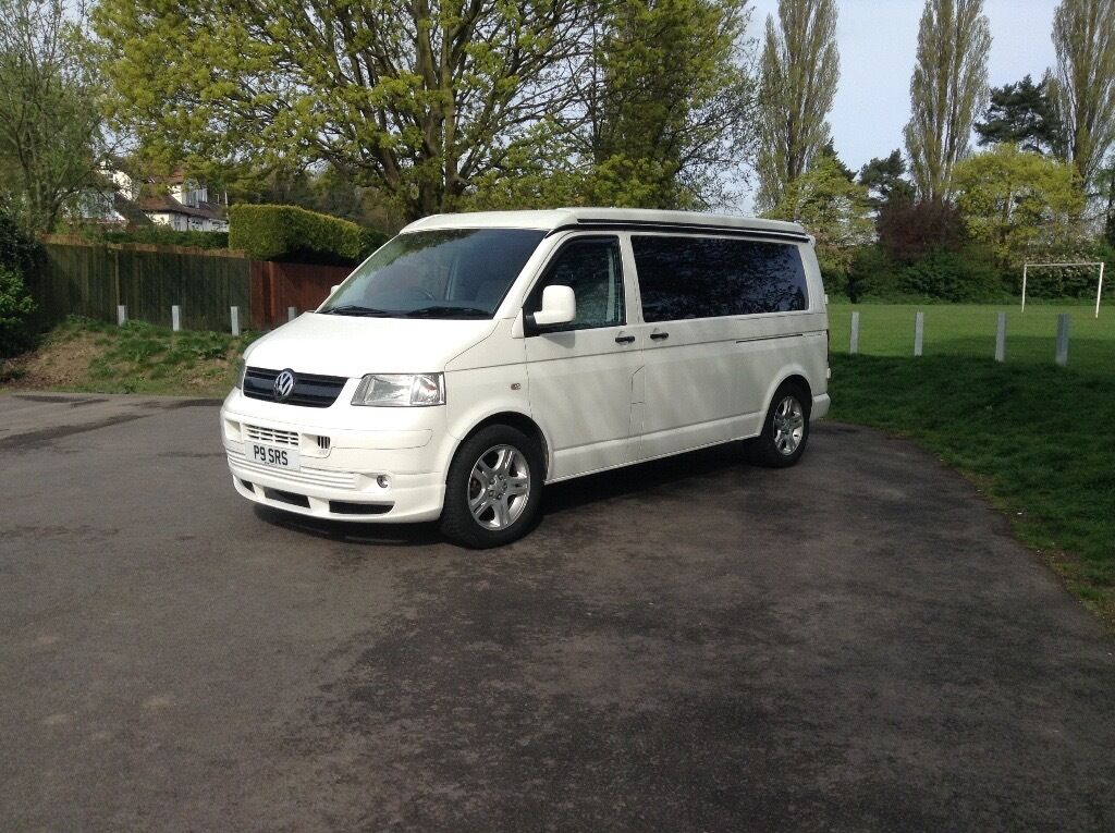 2006 VW T5 Campervan Long Wheelbase Professional Conversion By GT Campers With Lots Of Extras