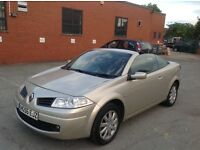 2006 Renault Megane 1.6 Convertible Good Condition with history and mot