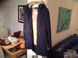 Jack wills Ladies coat size 8