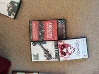 For sale collection of dvd films in boxes, good condition