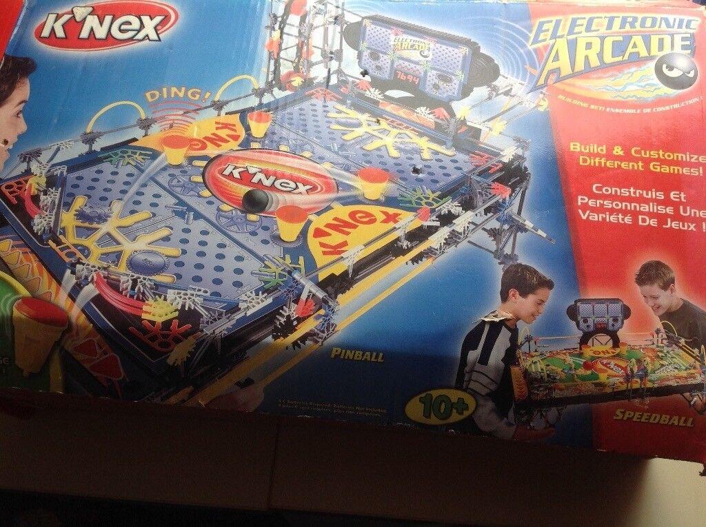 Knex electronic arcade set age 10+