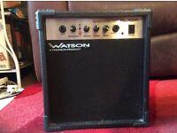 Watson guitar amplifier,