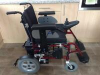 WHEELTECH ENIGMA ELECTRIC WHEELCHAIR STUNNING CONDITION ((SPARES / REPAIRS)) EASY FIX