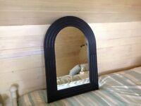 Detailed arch mirror