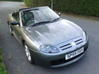 MG TF 2005, only 44000 miles, metalic grey in great condition.