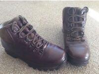 Ladies/women's Brasher brown leather gortex walking boots size 6 £50. Worn twice excellent condition
