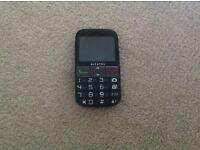 Alcatel big button mobile phone