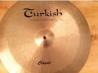Turkish and Paiste Cymbals