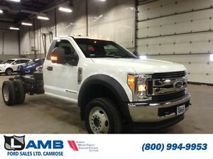 "2017 Ford F-550 DRW 4WD Reg Cab XLT 169"" WB QUALIFIES FOR NEW PR"