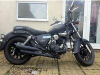 Keyway superlight 125cc cruiser. Looking to sell quick.