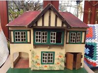 A 1950s Triang Dolls House