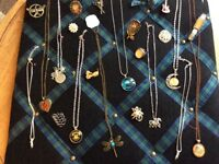 Selection of Neckaces, Rings and Pins
