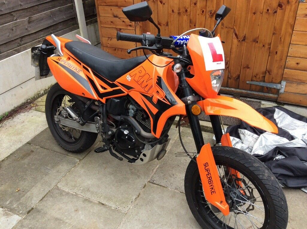 Superbyke rmr 125 like ktm @makeoffer@