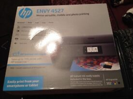 HP Laptop and Printer