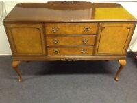 Antique Hard Wood dining/living room cabinet