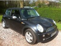 2006 MINI ONE **MOT OCTOBER** IN GOOD CONDITION FOR ITS AGE AND MILEAGE . HALF LEATHER INTERIOR ,ER