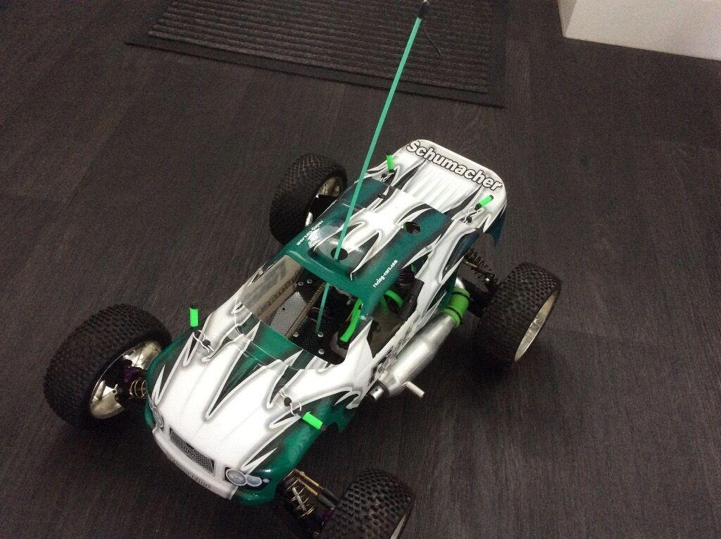 Rc car nitro Schumacher riot 2 buggy good condition (bargain)   in ...