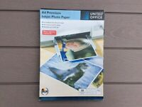 A4 Premium Inkjet Photo Paper