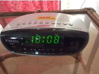 Roberts CR9971 Chronologic VI Alarm Clock Radio.