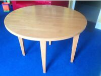 Table, small, folding table