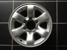 Alloy Wheels for Nissan Patrol GR Y61 16 inch Ideal for Snow or Mud Tyres