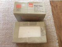 B&Q white wall tiles