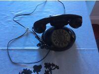 Finger dialling telephone