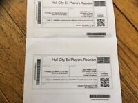 Hull City Ex Players reunion Tickets , Beautiful Couch playing too