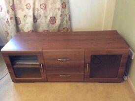 Medium Wood Effect TV Cabinet