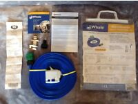 WHALE AQUASOURCE CARAVAN MAINS WATER HOOK UP. WITH RECEIPT. 1 MONTH OLD. USED FOR 6 DAYS. AS NEW.