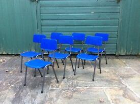 7 Small nursery school chairs