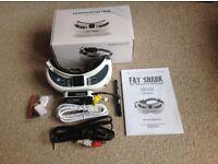 FAT SHARK FPV HD2 goggles