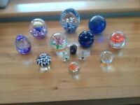 Lovely Collection of Paperweights