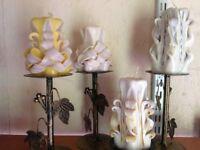 Candles,cut & carve