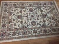 Heritage cream rug