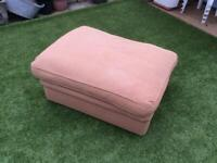 Pouffe/seat put me up Bed