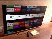 "SONY 50"" SUPER Smart ULTRA SLIM 3D ANDROID TV,50W805C,built in Wifi,Freeview HD,excellent condition"
